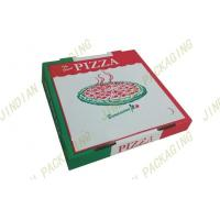 Wholesale Foldable Custom Pizza Boxes For Delivery, Corrugated Paper Pizza Packing Boxes from china suppliers