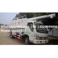 Quality 2019s new cheapest price forland 4*2 RHD 8m3 animal feed fodder transporting vehicle for sale, poultry feed truck for sale