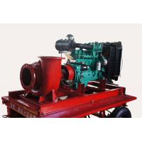 Wholesale Diesel powered water pumps by CUMMINS engine for flood control from china suppliers