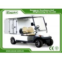 Wholesale Cargo Type Hotel Golf Buggy With 205 / 50 - 10 Tyre Sofa Chair/Trojan Battery from china suppliers