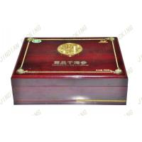 Wholesale Antique Wood Jewelry Packaging Box, Mdf Wooden Gift Boxes With Silk Screen from china suppliers