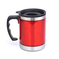 Wholesale Plastic Handle BSCI 13 Ounce Stainless Steel Insulated Mug from china suppliers
