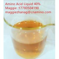 Wholesale Factory Pirce Compound Amino Acid Liquid 40% for Organic Agricultural use from china suppliers