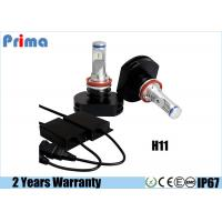 Wholesale High Output H11 H9 LED Headlight Bulb 30 Watt Power No Fan Aluminum from china suppliers