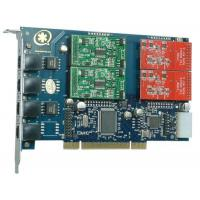 Wholesale TDM410P with 2FXO&2FXS Asterisk Card for VOIP Call Center from china suppliers