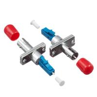 Wholesale LC Male To ST/SC/FC Female Hybrid Fiber Optic Couplers Male To Female REACH SvHC Compliant from china suppliers