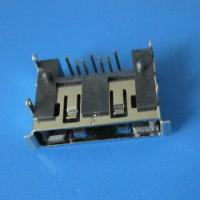 Wholesale 7Pin 90 angle  type female connector right angle SATA Connector,Double row inserts from china suppliers