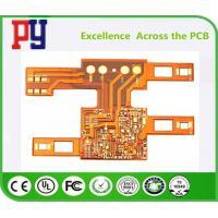 Wholesale Single Layers PCB Printed Circuit Board Flexible 1OZ Double Side Polyimide Base Material from china suppliers