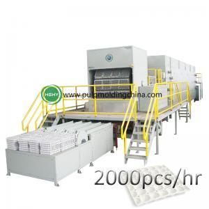 China high egg tray molding machine paper pulp molding machine on sale