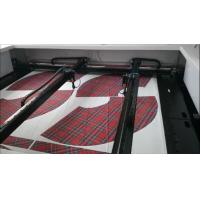 Wholesale Vision Cameras Printed Textile Laser Cutting Machine Two Single Head Positioning from china suppliers