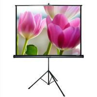 Buy cheap 72 Inch 84 Inch 100 Inch 16:9 Matte White Fabric Tripod Projection Screens from wholesalers