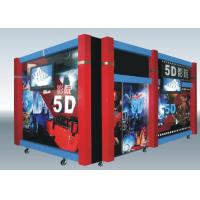 China Home Hydraulic / Electric Moiton 5D Theater / 7d Cinema Simulator on sale