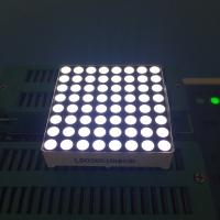 Buy cheap Customized 8x8 Dot Matrix LED Display High brightness For Video Display Board from wholesalers