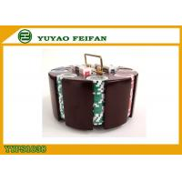 Wholesale Customized 200 Pieces Poker Chips Sets With Wooden Tray 40x3.3mm from china suppliers