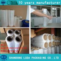Wholesale 23 micron pallet stretch film lldpe industrial plastic wrap from china suppliers