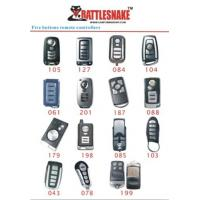 China 5 button Car Alarm Remotes control controlle, 433Mhz, 75m - 100m distance with CE, ISO9000 on sale