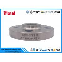 China Forged Nickel Alloy Pipe Fittings Socket Welding Flange SWRF SCH40S A182 F44 on sale