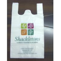 Wholesale Custom printed T Shirt Plastic Bags packaging small bags recycling for food from china suppliers