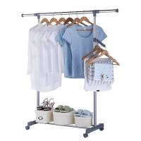China Expandable Foldable Clothes Drying Rack Stainless Steel Material High Strength on sale