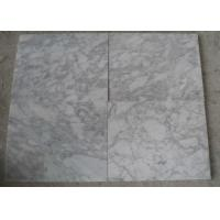 Wholesale Polished White Carrara Marble Tile Slabs , Outdoor Floor Marble Garden Tiles from china suppliers