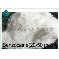 Buy cheap Pharmaceutical Raw Materials Benzocaine 20-50 Mesh for Pain Reliever 94-09-7 from wholesalers