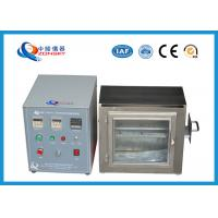 Wholesale 38 MM Flame Height Flammability Testing Equipment For Automobile Interior Material from china suppliers