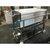 Wholesale Ace SUS 304 Stainless Steel Precise Frame Filter Press from china suppliers
