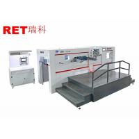 Wholesale Auto Sheet Feeding Die Cutting And Embossing Machine For Concave And Convex Embossing from china suppliers