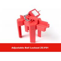 Wholesale CE Approval Corrosion Resistance OSHA Standard Adjustable Ball Valve Lockout from china suppliers