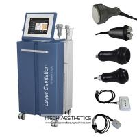 Wholesale Vacuum / 40Khz Cavitation / RF / Lipo Laser Slimming Machine For Fat Removal from china suppliers