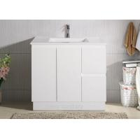 Wholesale Ceramic Basin Polymarble Top Bathroom Vanity from china suppliers