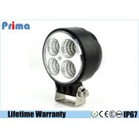 China 3.3 Inch 12W Round Led Flood Lights , 960 Lumen Off Road Led Spot Lights  on sale