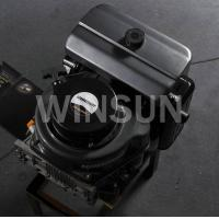 China 10 HP vertical shaft air cooled diesel engine for lawn mower on sale