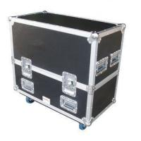 Buy cheap Black Aluminum Flight Case With Wheels And Safe Locks And Strong Handle Size from wholesalers