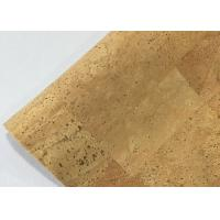 Wholesale Portugal Cork Leather Fabric Hot Special Design Bread Veins High Color Fastness from china suppliers