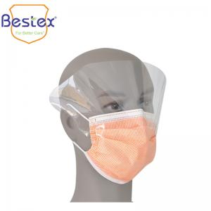 Wholesale Custom Medical En 14683 4ply Disposable Non Woven Face Mask from china suppliers