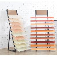 Wholesale 2 Sides Delicate Floor Tile Display Rack Stand 10 Pieces Acid Resistance from china suppliers