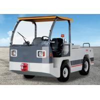 Quality White Aircraft Tow Tractor High Efficiency 23kw Self Diagnosis With Curtis for sale