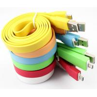 Wholesale Big noodle cable, micro usb cable for Samsung, Iphone from china suppliers