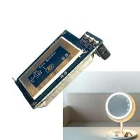 Wholesale Super Compact LED Mirror Sensor 5.8G Microwave Module 30° Beam Aperture Ray Technology from china suppliers