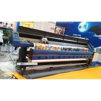 Wholesale 3.2M Large Format Eco Solvent Printer With Two DX7 Micro Piezo Print Head for Flex Banner from china suppliers