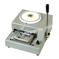 China WL-2000 PVC Card Embossing Machine on sale