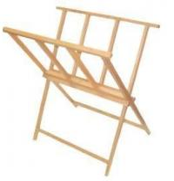 Buy cheap Wood Print Rack from wholesalers