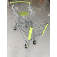 Wholesale 150L Supermarket Shopping Carts , Steel Shopping Trolley Passed CE And SGS from china suppliers