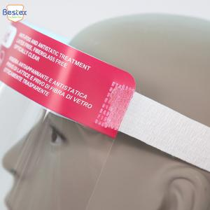 Wholesale Transparent Double Smokeproof 14KGS Anti Fog Face Shields from china suppliers
