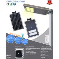 Wholesale 12V Solar Powered Led Street Lights Integrated 30W For Factory , School from china suppliers