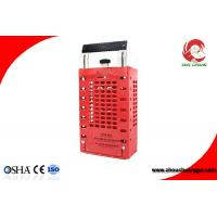 Wholesale Appearance Patent Portable Steel Plate Steel Safety Group Lockout Box/Kit ZC-X03 from china suppliers