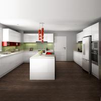 Pearl White Melamine Paint For Kitchen Cabinets With Soft