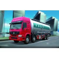 China Professional Coal Tar Oil Tank Truck , Transport Water Tanker Truck 28CBM on sale