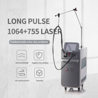 Wholesale Multifunctional 755Nm 1064Nm Alexandrite Long Pulse Laser Hair Removal Machine from china suppliers